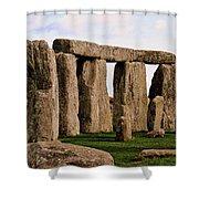 Stonehenge England United Kingdom Uk Shower Curtain
