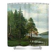 Summer Landscape Shower Curtain