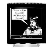 Sun Tzu Shower Curtain