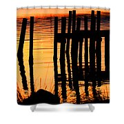 Sunrise / Sunset / Indian River Shower Curtain