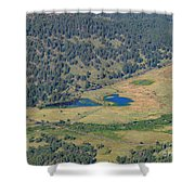 Superb Landscape In Rocky Mountain National Park Shower Curtain