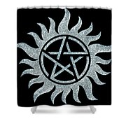 Supernatural Ice Shower Curtain