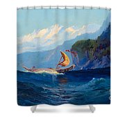 Sydney Laurence Shower Curtain