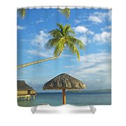 Tahiti, Bora Bora Shower Curtain