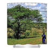 Tanzania Shower Curtain