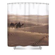 Thar Desert - India Shower Curtain