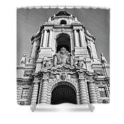The Beautiful Pasadena City Hall. Shower Curtain