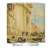The Church Of The Gesuati Shower Curtain