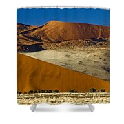 The Dunes Of Sossusvlei Shower Curtain