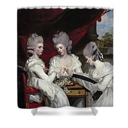 The Ladies Waldegrave Shower Curtain