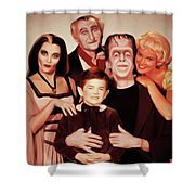 The Munsters Shower Curtain