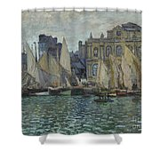 The Museum At Le Havre Shower Curtain