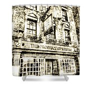 The Prospect Of Whitby Pub London Vintage Shower Curtain