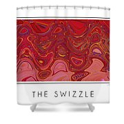 The Swizzle Shower Curtain