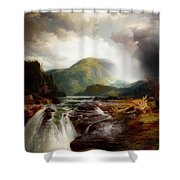 The Wilds Of Lake Superior Shower Curtain