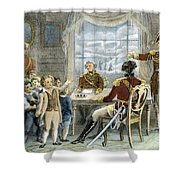 Thomas Gage, 1721-1787 Shower Curtain