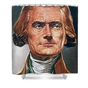 Thomas Jefferson (1743-1826) Shower Curtain