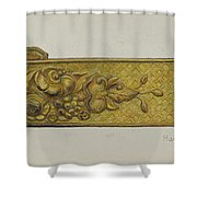 Tie-back Shower Curtain