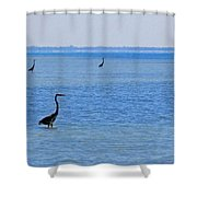 3 Times Shower Curtain