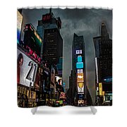 Times Square Nyc Shower Curtain