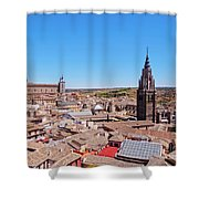 Toledo, Spain Shower Curtain