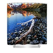 Torres Del Paine 001 Shower Curtain