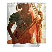Tribal Beauty Of India Shower Curtain