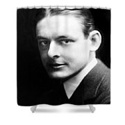 T.s. Eliot (1888-1965) Shower Curtain