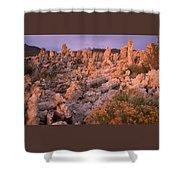 Tufa Towers - Mono Lake Shower Curtain