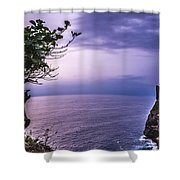 Uluwatu Temple Shower Curtain