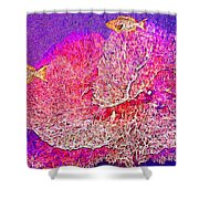 Underwater. Coral Reef. Shower Curtain