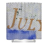 Us 100 Dollar Bill Security Features Shower Curtain