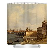 Venice  Santa Maria Della Salute Shower Curtain