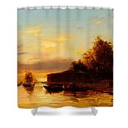 View Of Istanbul Shower Curtain