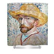 Vincent Van Gogh (1853-1890) Shower Curtain
