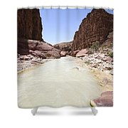 Wadi Zered Western Jordan Shower Curtain