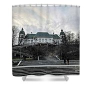 Warsaw, Poland  Shower Curtain