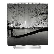 Washington Memorial Shower Curtain