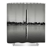 Washington Memorial In Washington Dc Shower Curtain