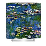 Water Lilies 1916 Shower Curtain