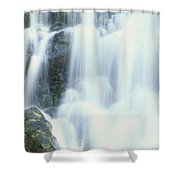 Waterfall Close-up Shower Curtain