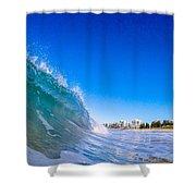 Wave Photo Shower Curtain
