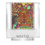 Welco Shower Curtain