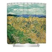 Wheat Field With Cornflowers Shower Curtain