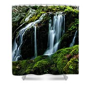 Wigwam Falls Shower Curtain