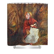 William Powell Frith Shower Curtain
