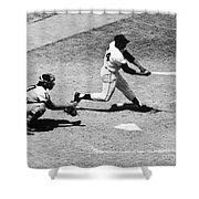 Willie Mays (1931- ) Shower Curtain