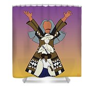 3 Women Shower Curtain