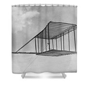 Wright Brothers Glider Shower Curtain