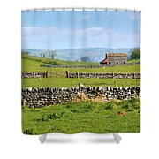 Yorkshire Dales - England Shower Curtain